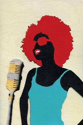 Angela Sings Poster