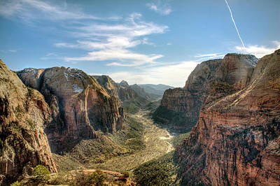 Angels Landing - Zion National Park Poster