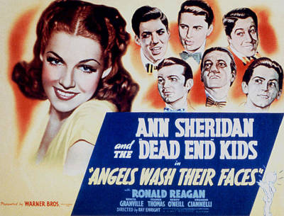 Angels Wash Their Faces, Ann Sheridan Poster by Everett