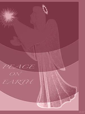 Angle Peace Card Poster