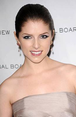 Anna Kendrick At Arrivals For The Poster by Everett