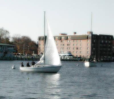 Annapolis Sail Boat Poster