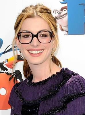 Anne Hathaway At Arrivals For Rio Poster by Everett