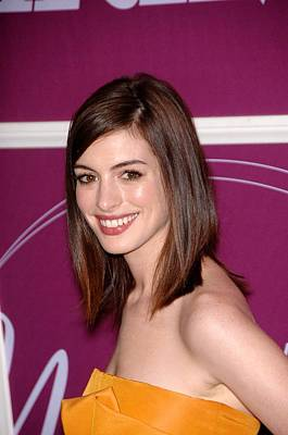 Anne Hathaway In Attendance Poster by Everett