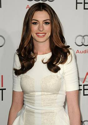 Anne Hathaway Wearing An Antonio Poster by Everett