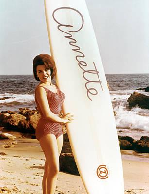 Annette Funicello, Circa 1964 Poster by Everett