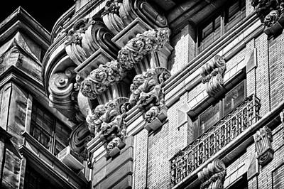 Ansonia Building Detail 45 Poster