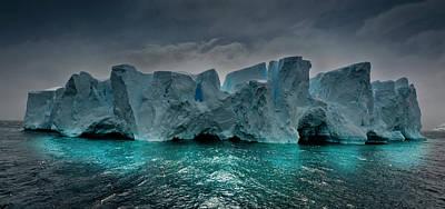 Antarctica Poster by Michael Leggero