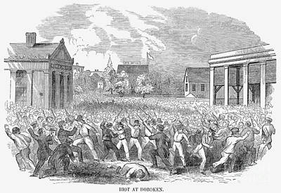 Anti-german Riot, 1851 Poster