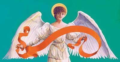Antique Angel Poster