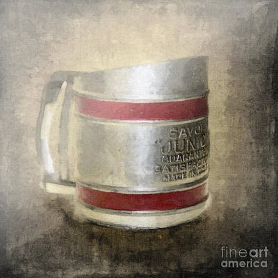 Antique Flour Sifter Poster by Betty LaRue