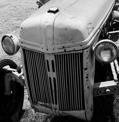 Antique Ford Tractor Poster by Toma Caul