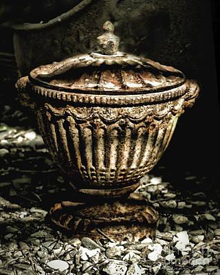 Antique Urn Poster