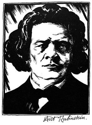 Anton Rubinstein Poster by Granger
