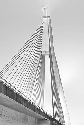 Anzac Bridge - Glebe Nsw Poster by Mark Lucey