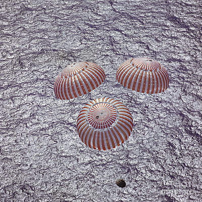 Apollo 16 Recovery Poster by Nasa