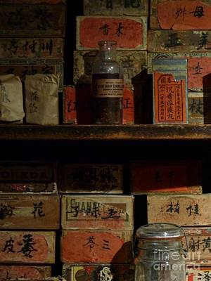 Poster featuring the photograph Apothecary by Newel Hunter
