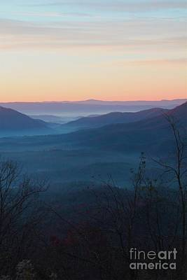 Poster featuring the photograph Appalachian Sunrise by Laurinda Bowling