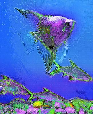 Aquarium Art 28 Poster by Steve Ohlsen