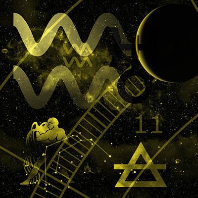 Aquarius Poster by JP Rhea