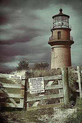 Poster featuring the photograph Aquinah Light II Marthas Vineyard by Jack Torcello