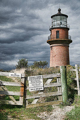 Poster featuring the photograph Aquinnah Light I Marthas Vineyard by Jack Torcello