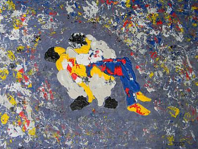 Arab Despair Two - La Pieta Poster