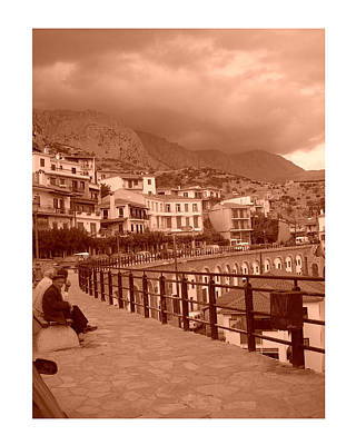 Arachova Greece Poster