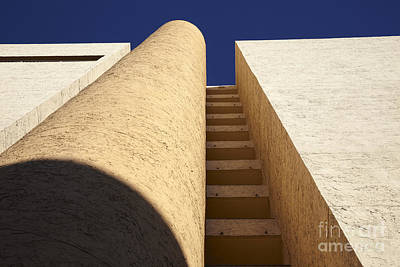 Architectural Abstract Poster by Tony Cordoza