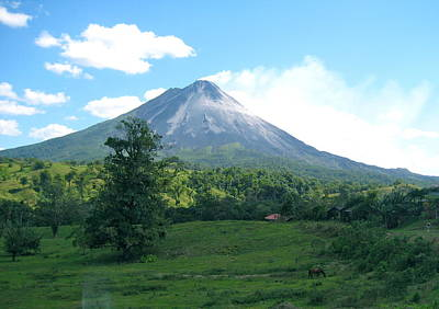 Poster featuring the photograph Arenal by Eric Tressler