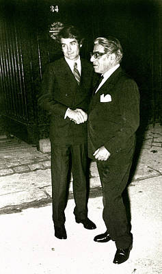 Aristotle Onassis, With Kim Rochas Poster by Everett