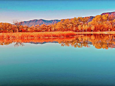 Arizona Dead Horse State Park Poster by Bob and Nadine Johnston