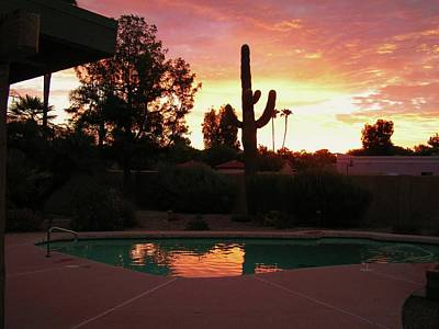Poster featuring the photograph Arizona Sunrise 04 by Rand Swift