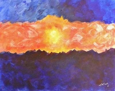 Arizona Sunset Poster by Tatum Chestnut