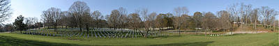 Arlington National Cemetery Panorama 1 Poster by Metro DC Photography