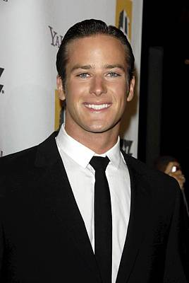 Armie Hammer At Arrivals For 12th Poster by Everett