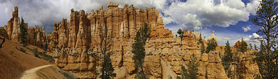 Poster featuring the photograph Around The Bend At Bryce Canyon by Gregory Scott