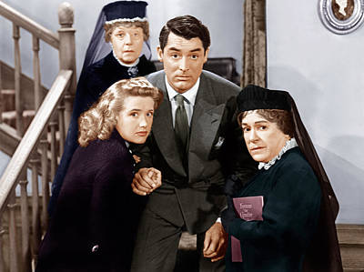 Arsenic And Old Lace, From Left Poster by Everett