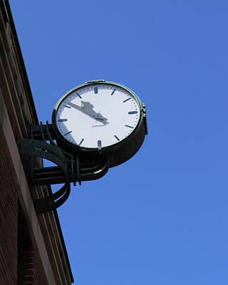 Art Deco Clock Poster