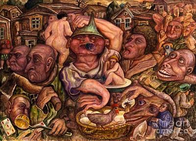 Art Experts Poster by Vladimir Feoktistov