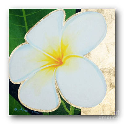 art flower painting FL058 Poster by Flower Paintings