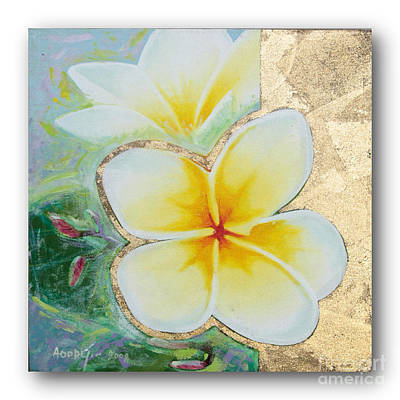 art flower painting FL059 Poster by Flower Paintings