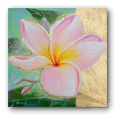 art flower painting FL064 Poster by Manachai Jaiharn