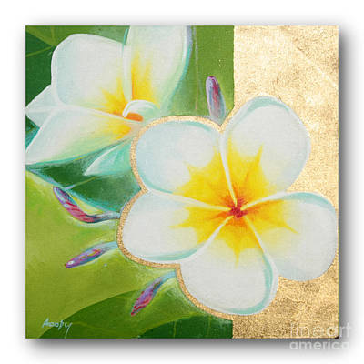 art flower painting FL56 Poster by Flower Paintings