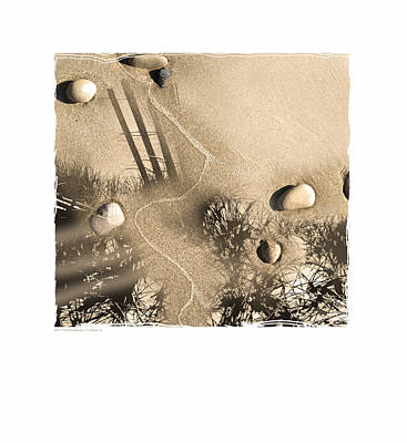 Art In The Sand Series 3 Poster by Bob Salo