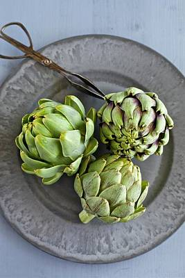 Artichokes Poster by Ingwervanille