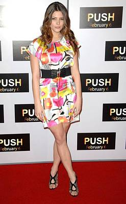 Ashley Greene At Arrivals For Push Poster