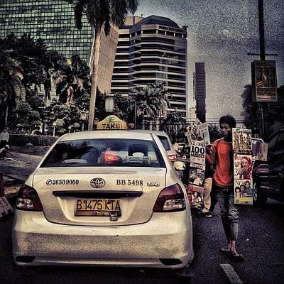 Asongan #social #traffic #jakarta Poster