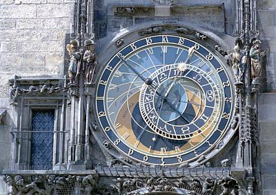 Astronomical Clock, Prague Poster