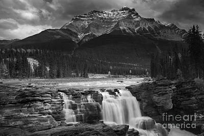 Athabasca Falls Jasper National Park  Poster by Keith Kapple